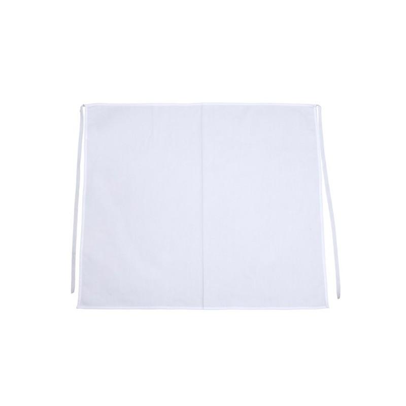 WHITE LONG APRON