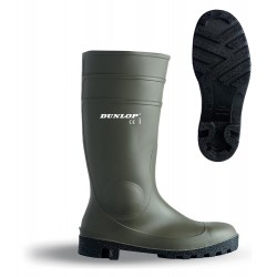DUNLOP GREEN  SAFETY S5 BOOTS