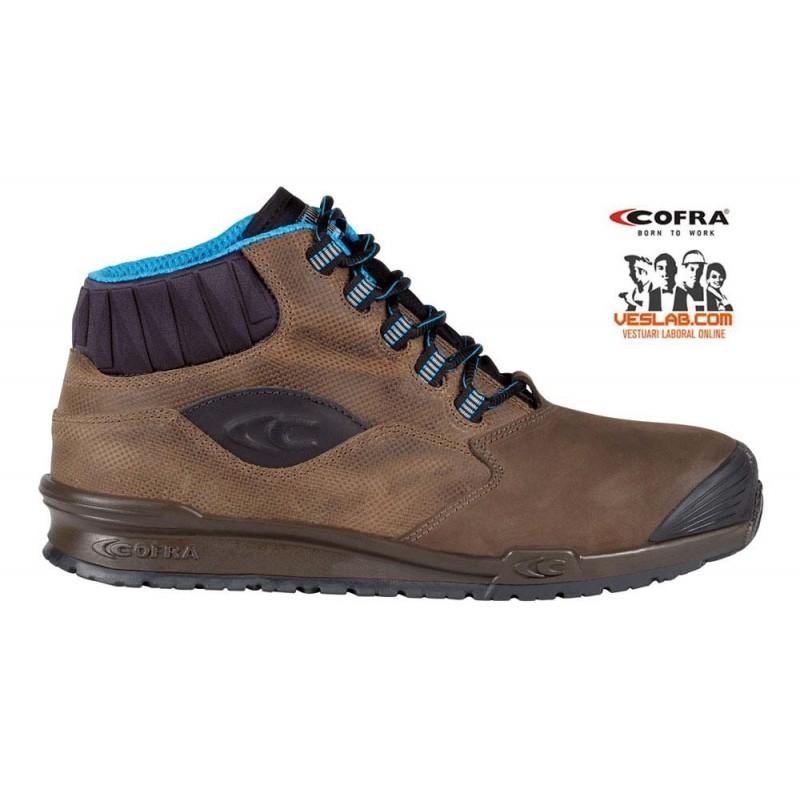 FOOTWEAR COFRA PERK BROWN S3 SRC