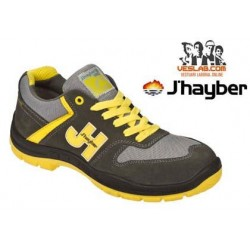 J'HAYBER STYLE GREY YELLOW S1 P SAFETY SHOES