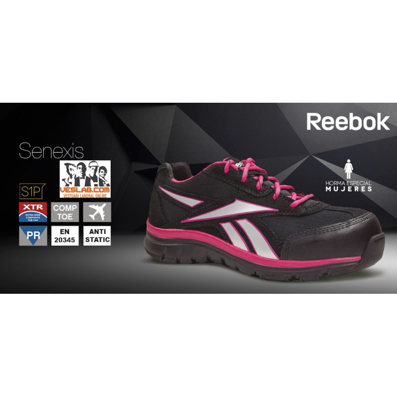 REEBOK SENEIXIS WOMAN S1P SAFETY TRAINERS SHOES