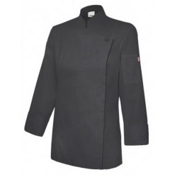 CHEF JACKET WITH CONCEALED ZIP