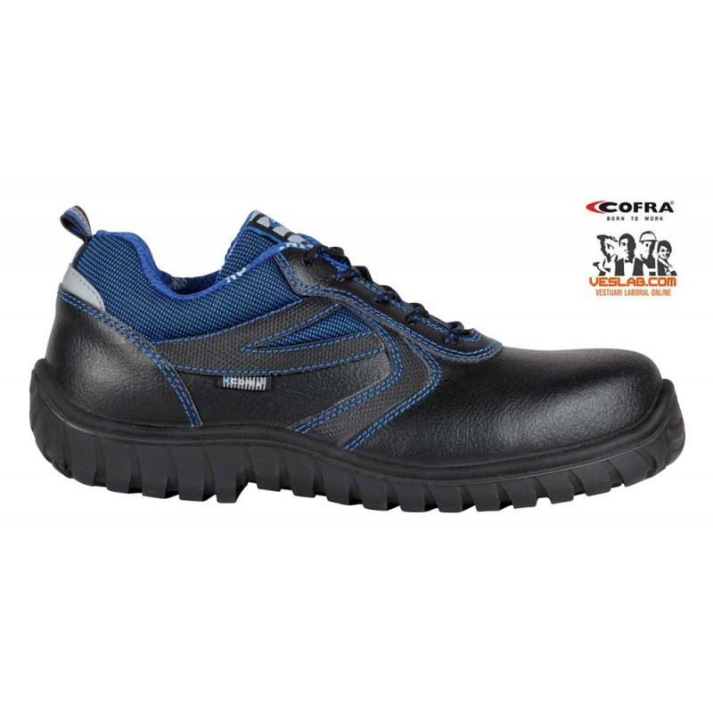 COFRA RUDDER BLACK S3 SRC SAFETY SHOES