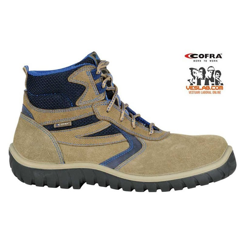 COFRA HARBOUR BEIGE S1 P SRC SAFETY BOOTS