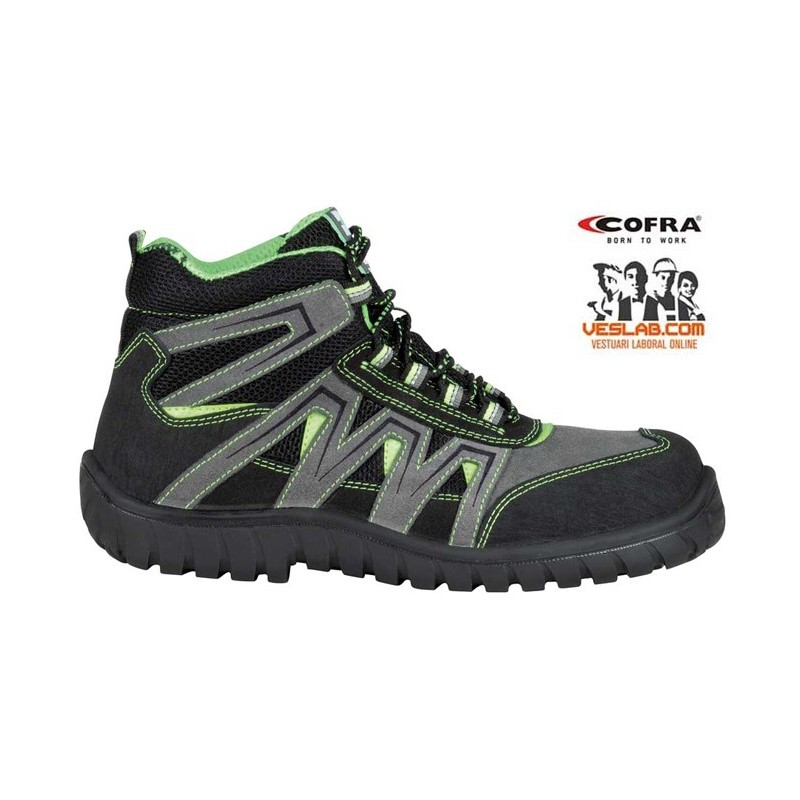 COFRA LASER GREY S1 P SRC SAFETY BOOTS