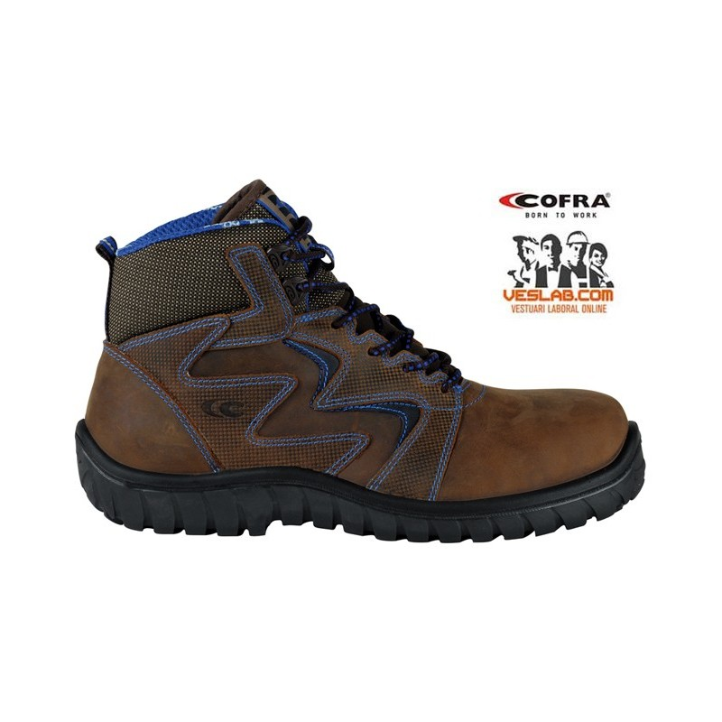 COFRA SIROCCO BROWN S3 SRC SAFETY BOOTS