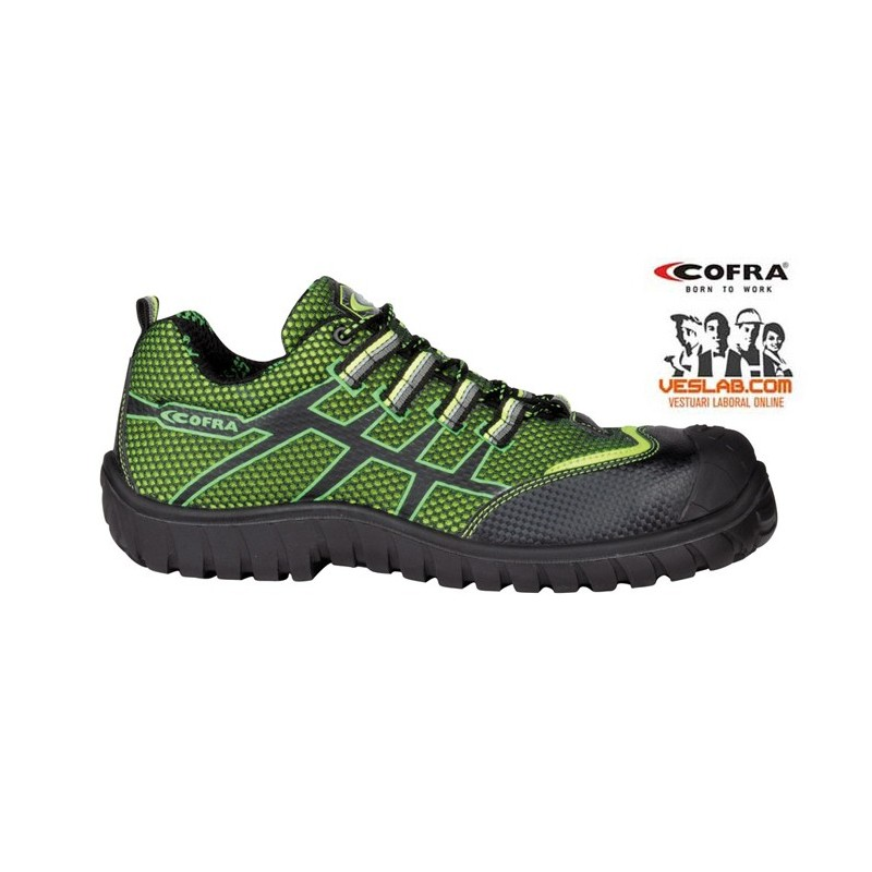 COFRA GHIBLI LIME S1 P SRC SAFETY SHOES