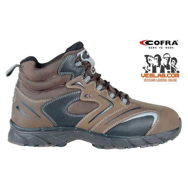 COFRA NEW FITNESS BROWN S3 SRC SAFETY BOOTS