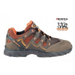 COFRA NEW WARRIOR BROWN S1 P SRC SAFETY TRAINERS